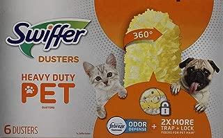 Swiffer 360 Dusters Heavy Duty Pet Refills, Febreze Odor Defense, 6 Count