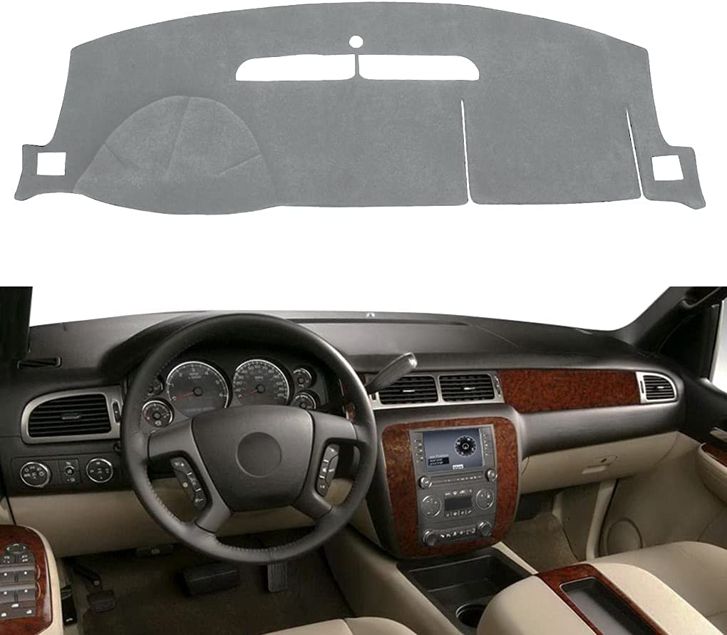 Dash Cover Mat Fit for 2007-2014 2007-2013 GMC Chevy Super beauty product restock quality top! Brand Cheap Sale Venue Yukon Chevr