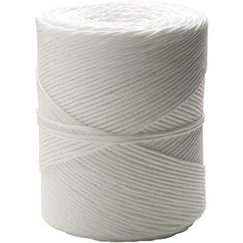 6 mm x 200 m Blanco Cofan 08101050 Cuerda Trenzada de poli/éster