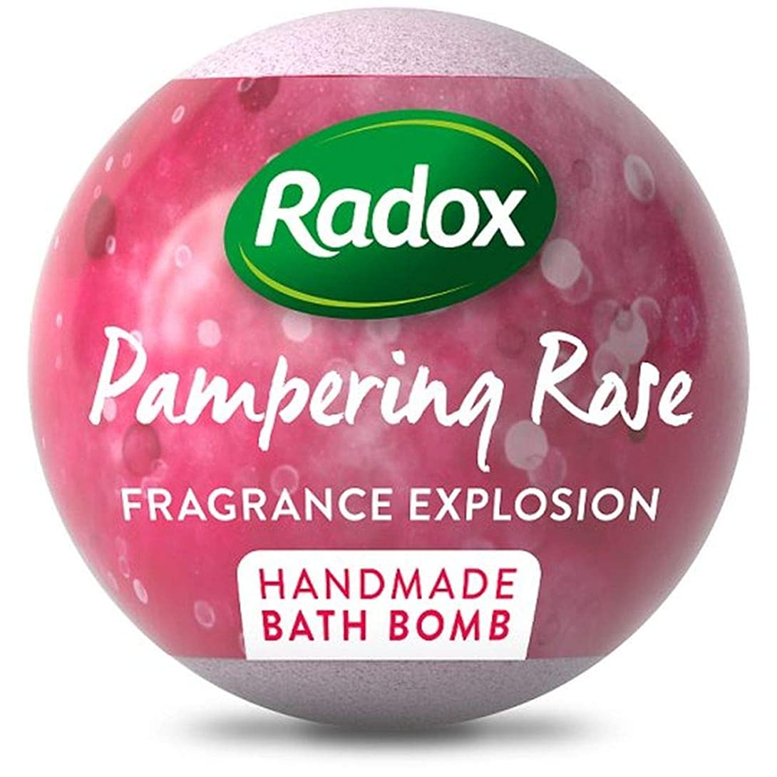 気体の五通行人[Radox] ラベンダーを落ち着かせるRadox、バス爆弾をバラ100グラム - Radox Calming Lavender And Rose Bath Bombs 100G [並行輸入品]
