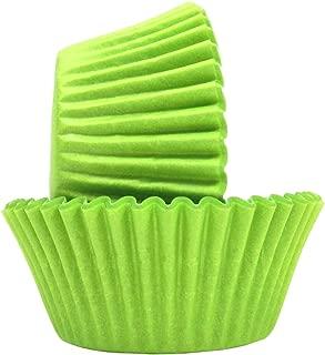 Regency Wraps RW0049 Greaseproof Baking Cups, Standard, Green, 40-Count, Lime Zest