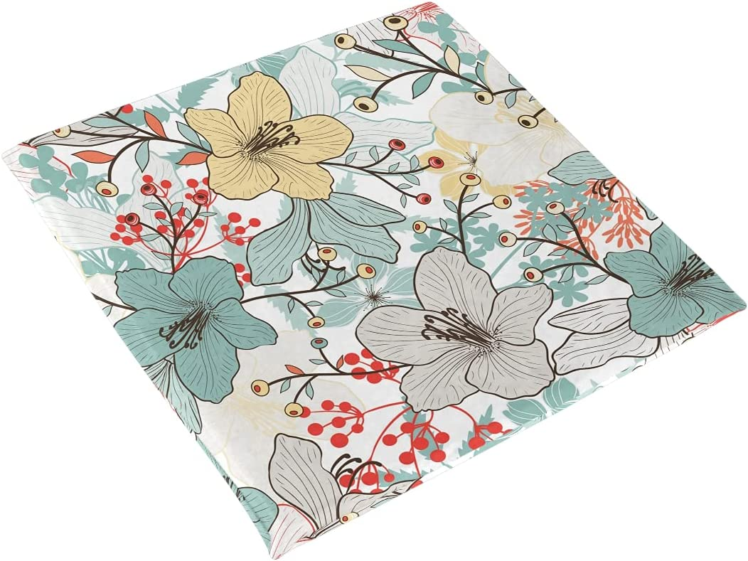 Leaves Flowers Seat Cushion Chair Pad Challenge the lowest price Foam trust Memory