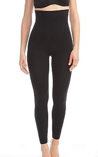 Farmacell 133 Leggings Vita Alta Massaggianti - Pantaloni Donna Dimagranti - Leggins Anticellulite - Pantacollant Snellente