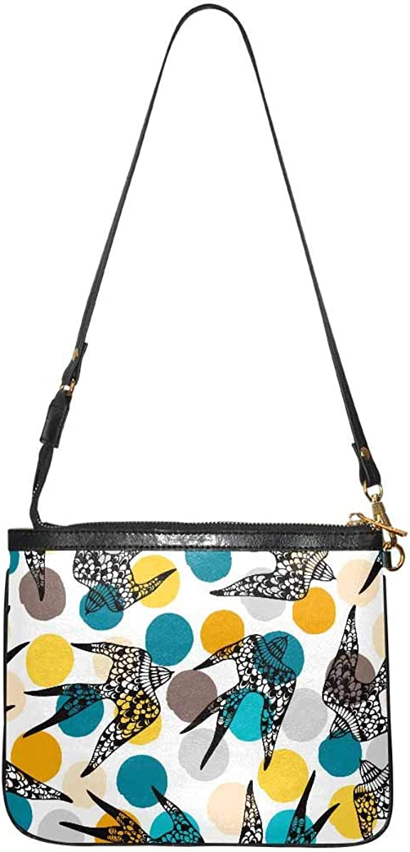 InterestPrint Women Crossbody Bag Soft PU Leather Purse Shoulder Sales of Max 86% OFF SALE items from new works
