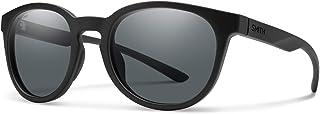 نظارات شمسية مستديرة من سميث إيستبانك كور بلون أسود / رمادي مستقطب، مقاس واحد