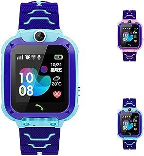 ساعة ذكية HelloPet S12 للأطفال IP67 مضادة للماء للأطفال SOS مكتشف موقع المكتشف (تتبع LBS فقط) (أزرق)