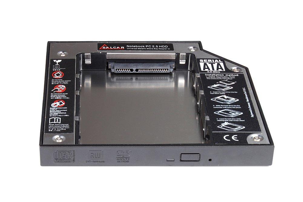 Salcar - Adaptador de disco duro SATA 2,5
