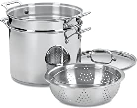 Best large stock pot with steamer insert Reviews