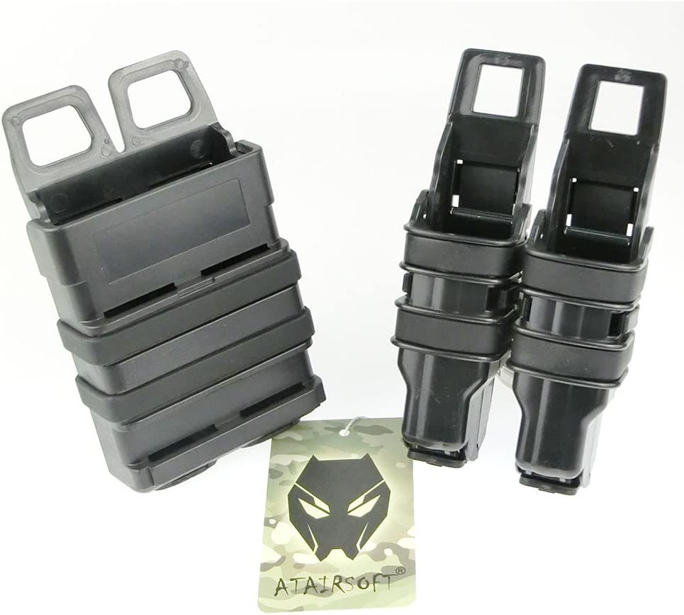 ATAIRSOFT Multi Colors Tactical Regular dealer Fast 2 in Mag 1 Holster Magazine Under blast sales