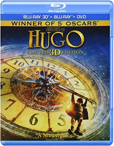 La Invencion de Hugo Cabret 3D Combo Superset(Hugo (3D)) [Blu-ray]