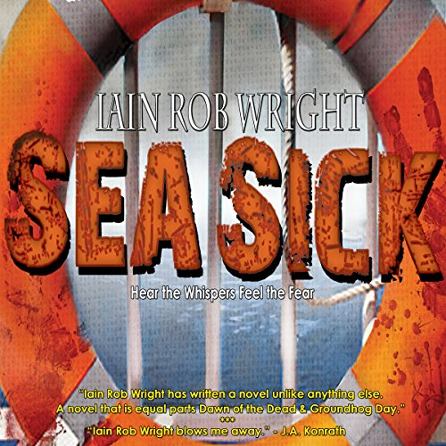 Sea Sick audiobook cover art