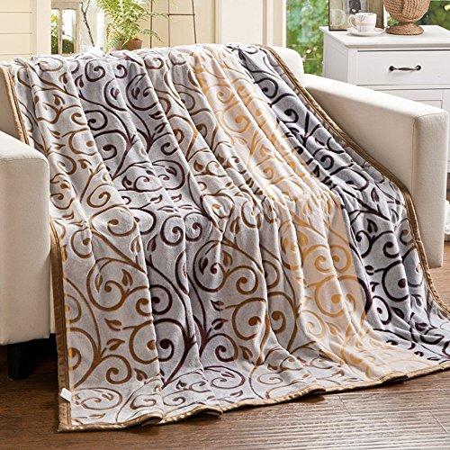 Global- Les étudiants en polyester blanket bureau de couverture couverture Climatisation couverture siesta couverture de loisirs draps de tapis Coral couverture de loisirs Nap (taille : 200 * 230cm)