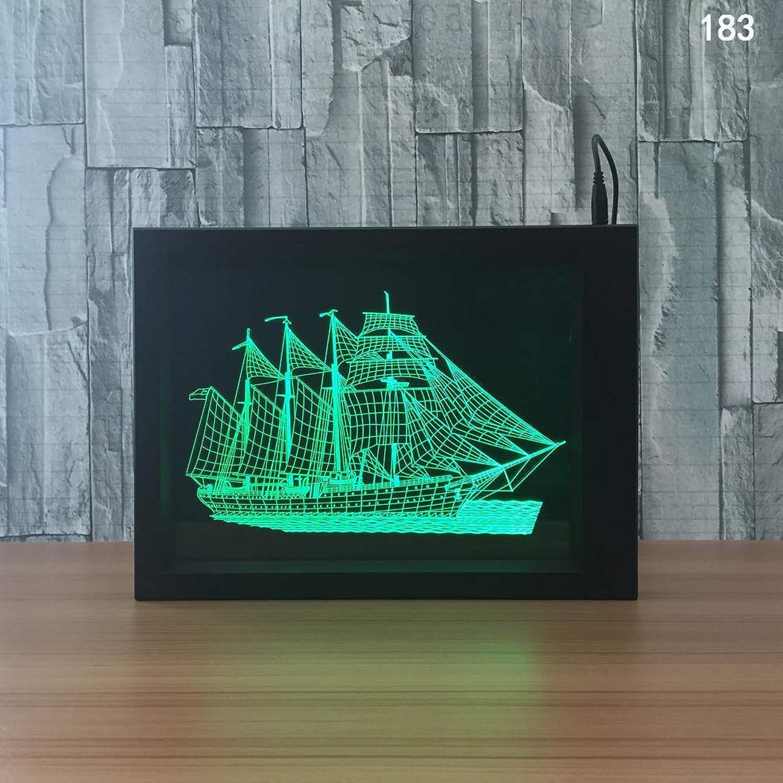 GXYBuntes Licht des Nachtlichtes 3d des kreativen Fotorahmens 63d kundenspezifisches kundenspezifisches kundenspezifisches Licht des Nachtlichts B07P99B5RP | Stabile Qualität  971f5d