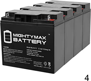 Mighty Max Battery 12V 18AH SLA Battery Replacement for TaoTao ATE-501-4 Pack Brand Product