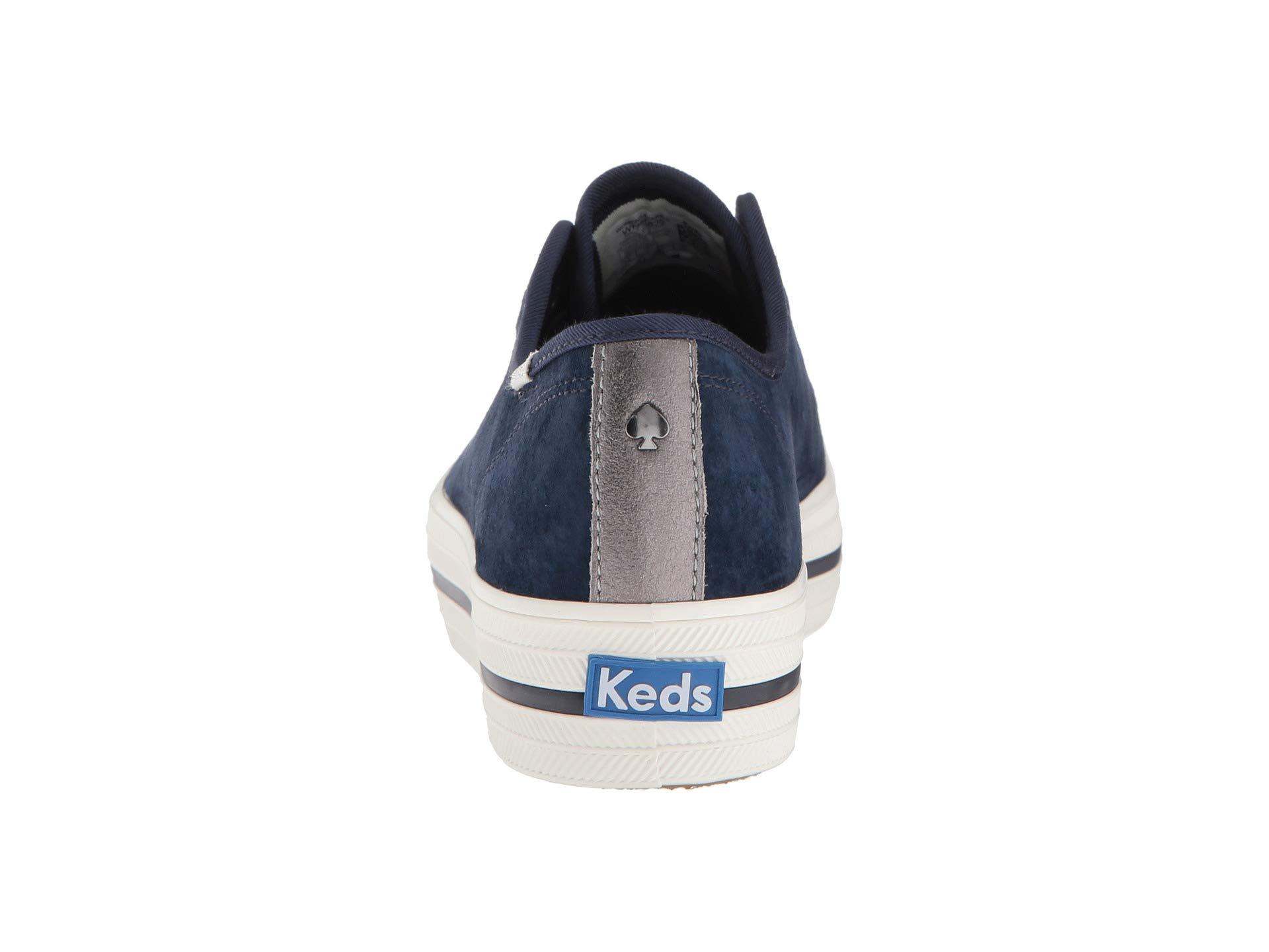 Kate Triple Keds New Spade Suede Ks York Navy X Kick gwqfxPO