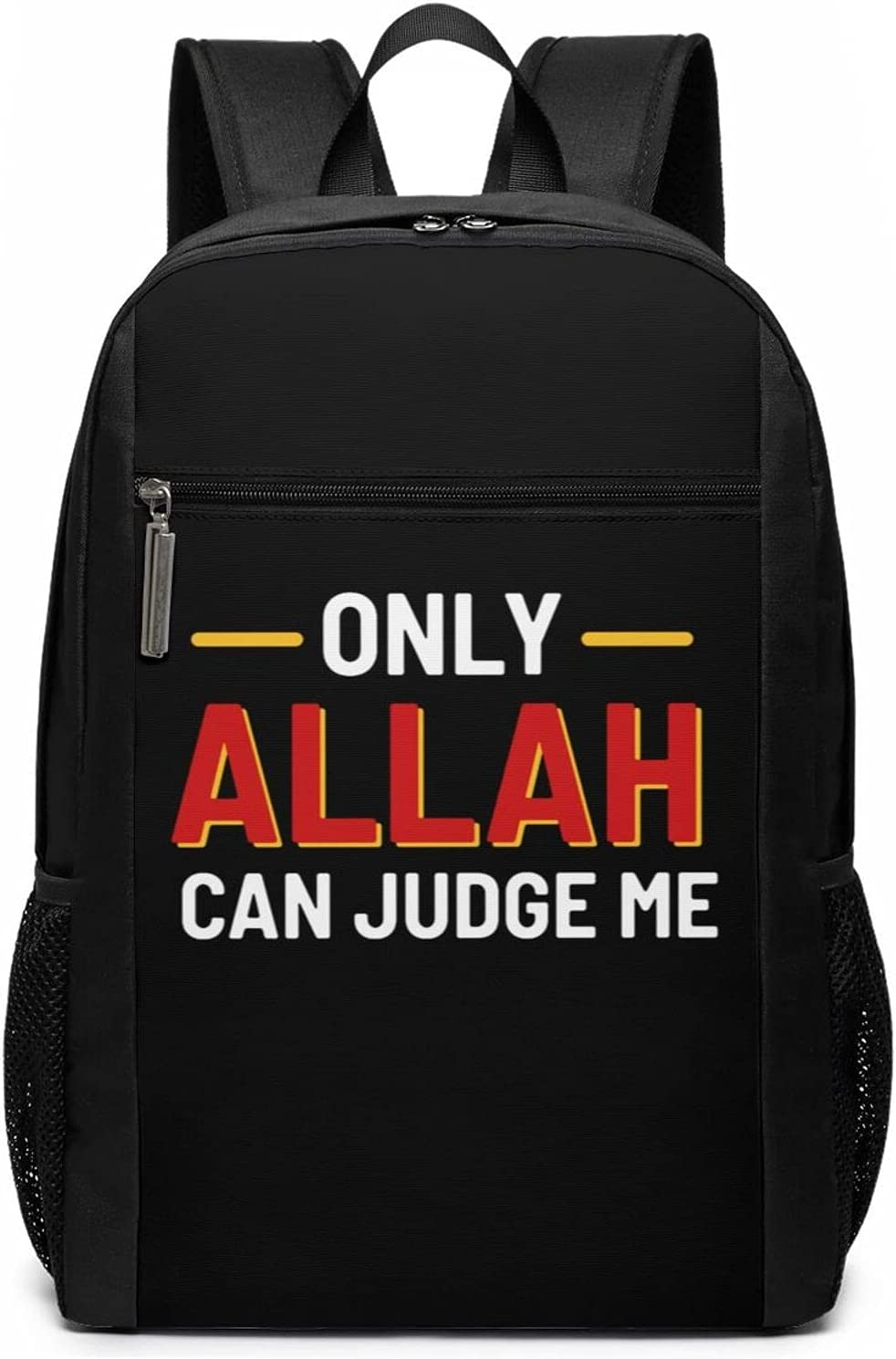 Muslim Moslem Only Allah Sacramento Mall Can Judge For Same day shipping Women' Backpack Travel Me