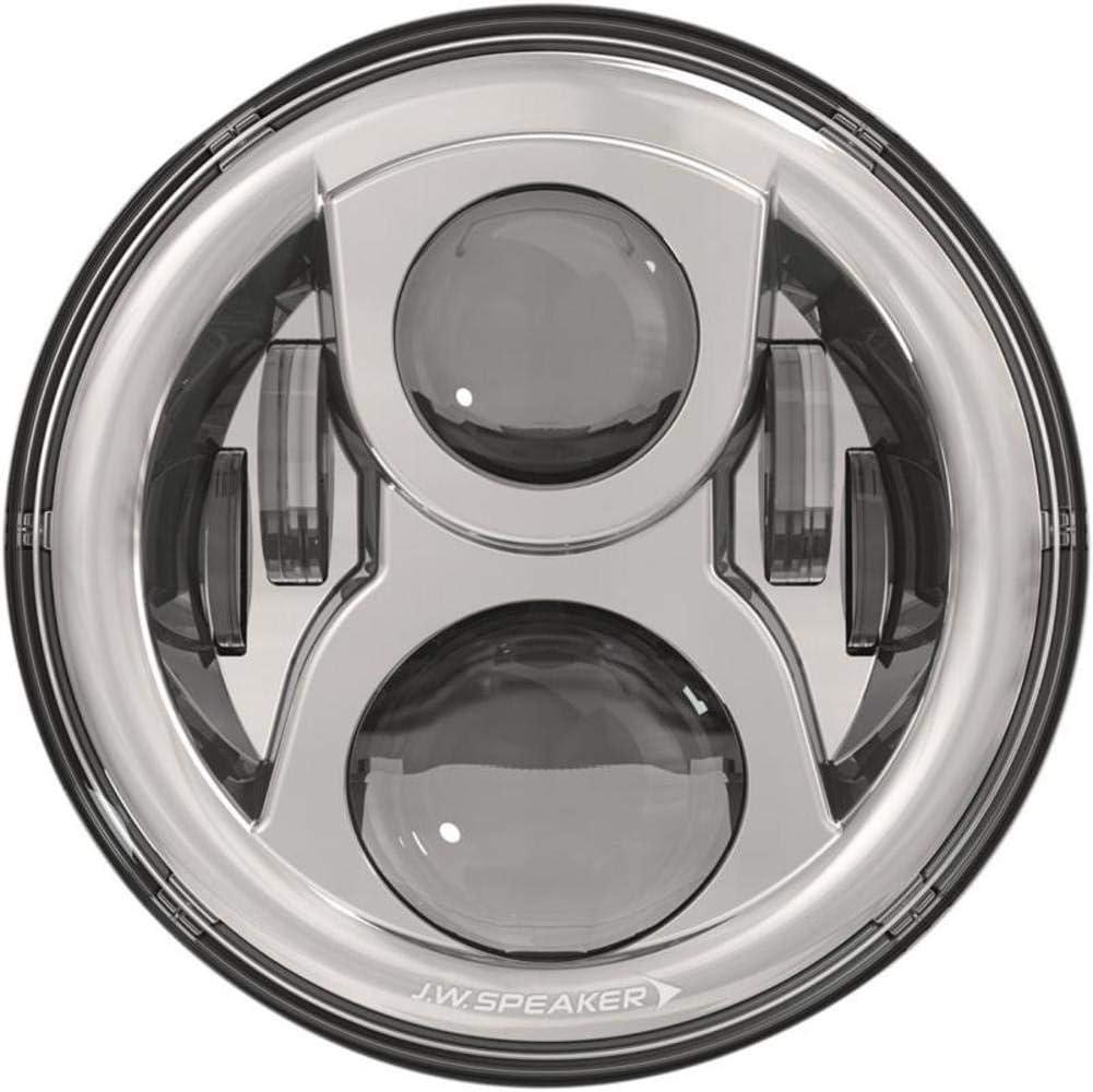 JW Speaker 8700 Ev2-S 12//24V Dot Headlamp Chr