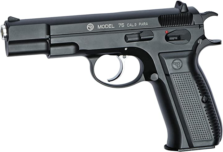 Pistola softair asg cz 75 crome barel full metal scarrellante B00DD59UTG