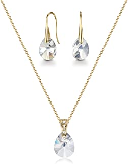 Mestige Jewellery Golden Pascal Set with Swarovski® Crystals