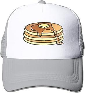 XNLHQH IJ Pancakes Trucker Hat Baseball Cap Dad Hat Adjustable Size