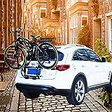 LJ-BICYCLE RACK Fahrradträger Auto Kofferraumrahmen Tragegestell Tragbar Aufhängungs-Reitstock 1-3 Fahrräder hängen A (Suitable for Hatchback SUV)