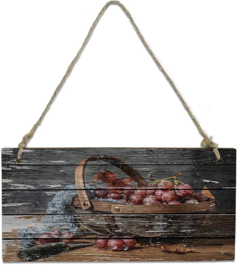 Wood Plaque Wall Hanging Sign Bathroom Grain Se for 2021 autumn and winter Quantity limited new Kitchen