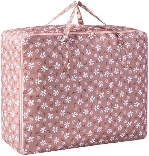 Xuan - Worth Another Khaki Pflaume Blüte Muster 3 Stück Kleidung Quilt Paket Finishing Bag Aufbewahrungsbox (Größe   70  50  30cm)