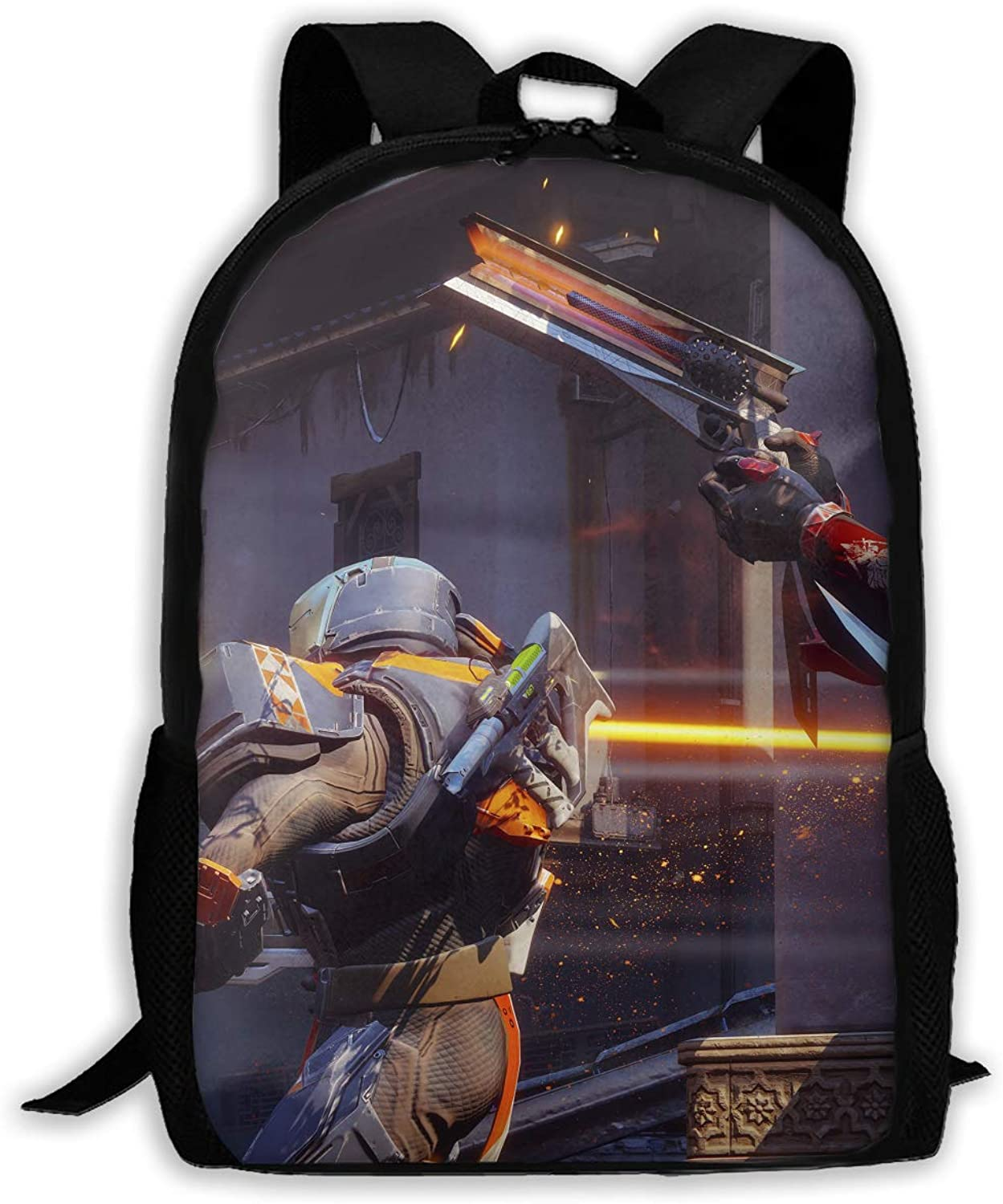 Destiny Titan Platinum Logo Adult Shoulder Bag Traveling Backpacks Satchel Schoolbags