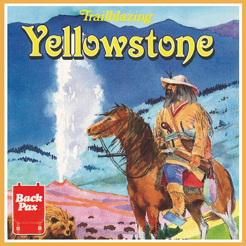 Trailblazing Yellowstone  audiobook cover art