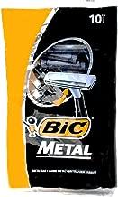 Bic Metal Disposable Men's Shaving Razors, 10-Count x 3 Packs