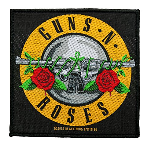 Guns 'N' Roses – Bullet Logo [Patch/parche, tejida] [SP2619]