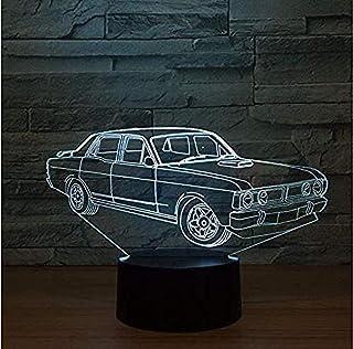 3S bil modellering led nattlampa anteckning hylla Creativo Atm & oacute; sfera Luces USB