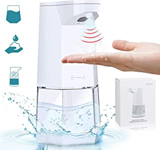 Jeteven Automatic Hand Sanitizer Dispenser, Alcohol Spray 360ml Touchless Liquid Alcohol Dispenser Infrared Induction Soap...