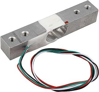 HALJIA Sensor de peso electrónico y portátil (5 kg) Compatible con proyectos Arduino, Raspberry Pi y otros