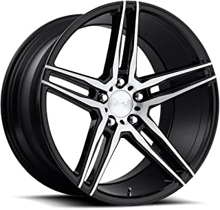 NICHE Turin MB -BLK MACH Wheel with Painted (17 x 8. inches /5 x 112 mm, 40 mm Offset)