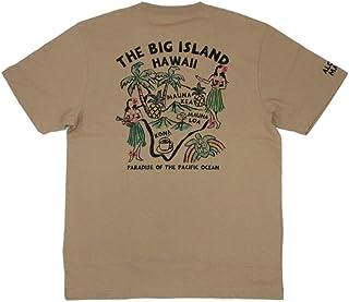 ALOHA MADE アロハメイド メンズ 半袖 Tシャツ (メンズ/ベージュ) 202MA1ST061 フララニ ハワイアン雑貨 (L)