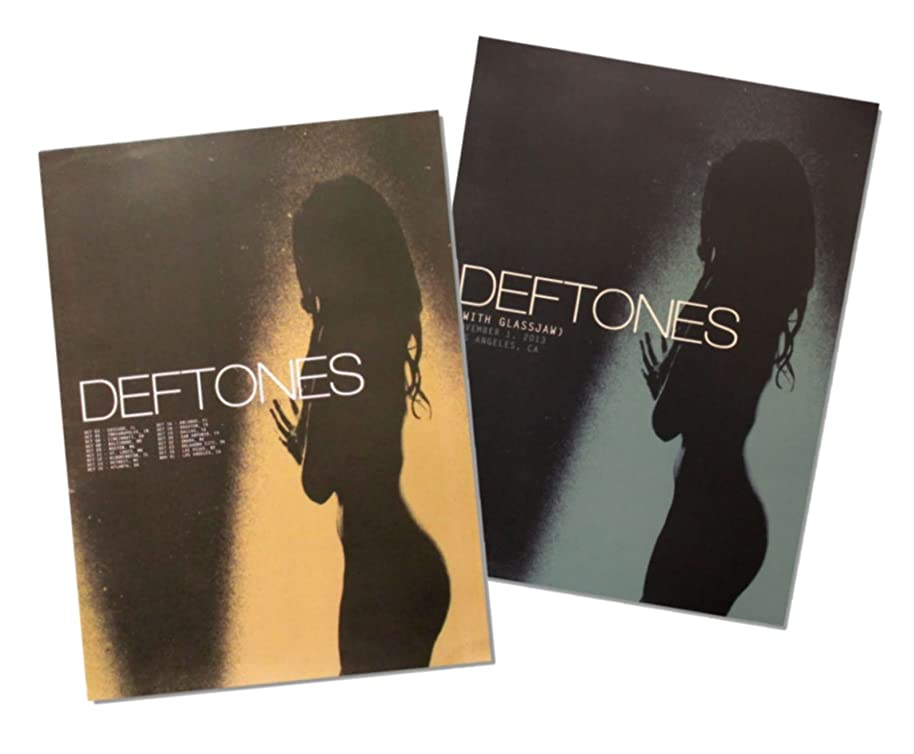 Real Swag Inc The Deftones 2013 Tour Info Two Piece Wall Poster Gift Set