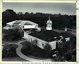Historic Images - 1990 Press Photo The Cecil B Day Butterfly Center, Largest Free-Flight Glass