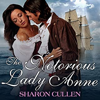 The Notorious Lady Anne audiobook cover art