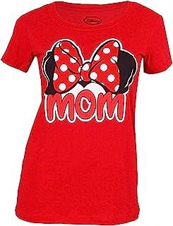 Disney Adult Womens Junior Mom Family Tee