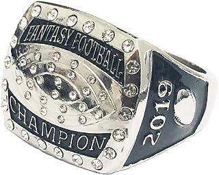 Fantasy Football Championship Ring Trophy League Champion Winner Champ 2019