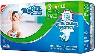 d5c122e408e4 Moltex Premium Talla 3 56 Unidades