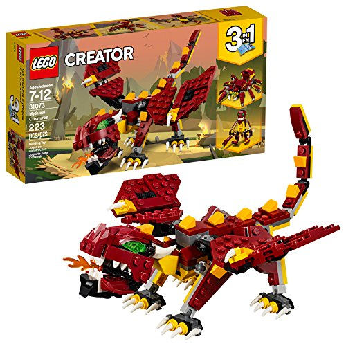 LEGO Creator 3in1 Mythical Creatures 31073 Building Kit (223 Pieces) (Discontinued by Manufacturer)