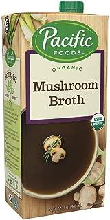 Pacific Foods Organic Mushroom Broth, 32-Ounce Carton