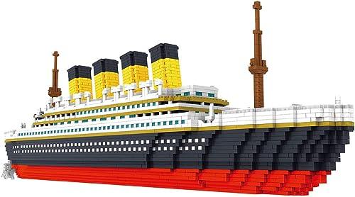 compras online de deportes Wumudidi Arquitectura 3D Modelo de de de Bloques de construcción, RMS Titanic Royal Mail Steamship Nano Mini Blocks DIY Toys 3800pcs (16  3   11 )  El ultimo 2018
