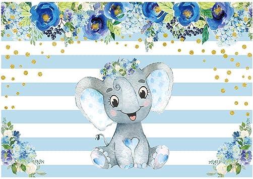 Funnytree 2 1 X 1 5 M Blauer Elefant Party Hintergrund Kamera