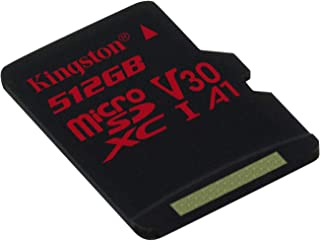 Professional Kingston 512GB MicroSDXC for Plum Trigger Pro with Custom 100MB/s formatting with SD Adapter! (Class 10/UHS-I/U3/A3/V30)