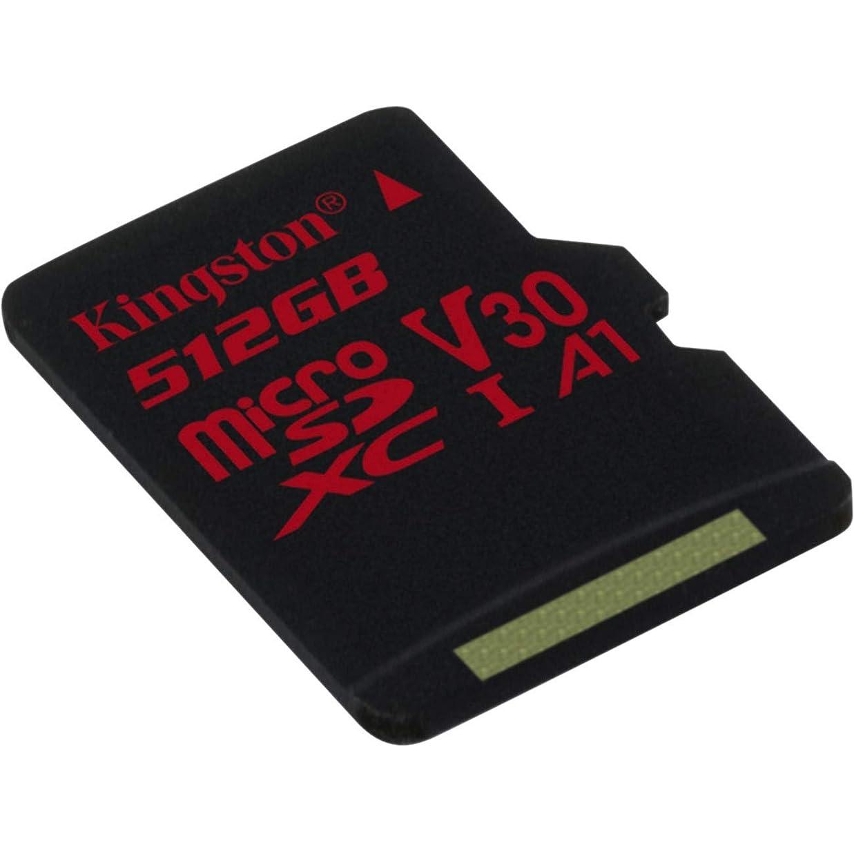 ジョガー大きさ子孫プロフェッショナル キングストン512GB MicroSDXC サムスンGalaxy Ace 3 GT-S7270用 カスタム100MB/秒フォーマットSDアダプター付き (クラス10/UHS-I/U3/A3/V30)