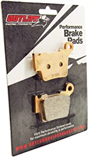Outlaw Racing Or368 Rear Sintered Brake Pads