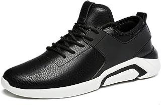 DADIJIER Zapatillas de Deporte atléticas para Hombre El Estilo Informal británico está de Moda con Zapatillas de Deporte l...